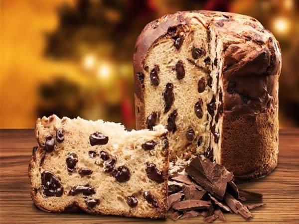 Receta de panettone con chocolate