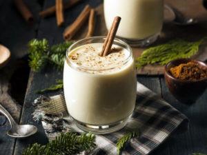 Ponche de Navidad al chocolate blanco
