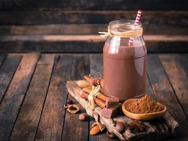 Receta de batido de cacao