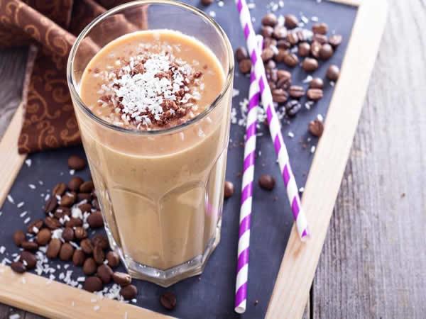 Receta de batido energético de chocolate