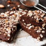 Receta de bizcocho de almendra y chocolate