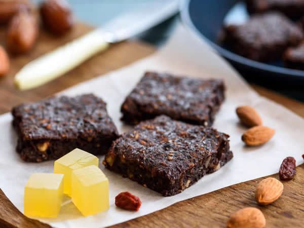 Receta de brownie vegano