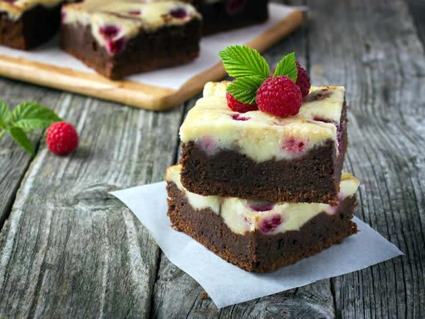 Receta de cheesecake brownies