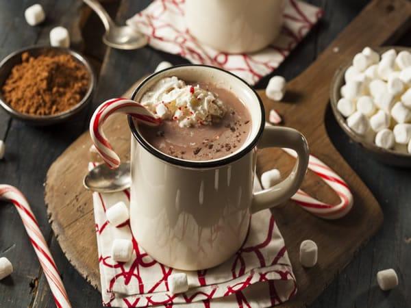 Receta de chocolate con malvaviscos