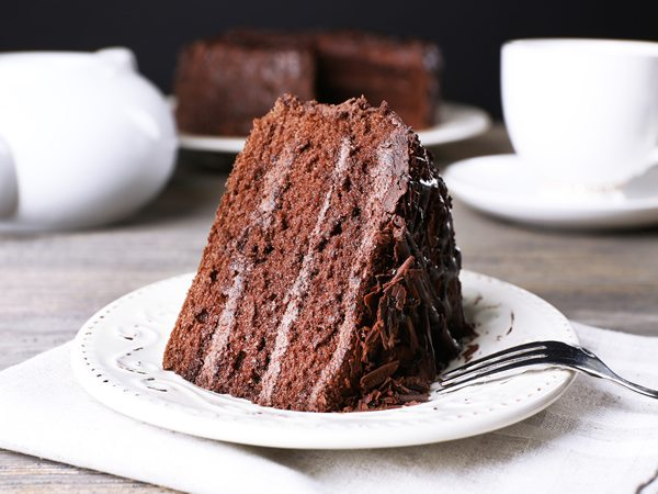 Receta de devil's food cake
