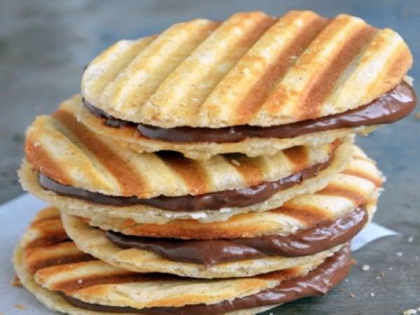 Receta de galletas de nutella