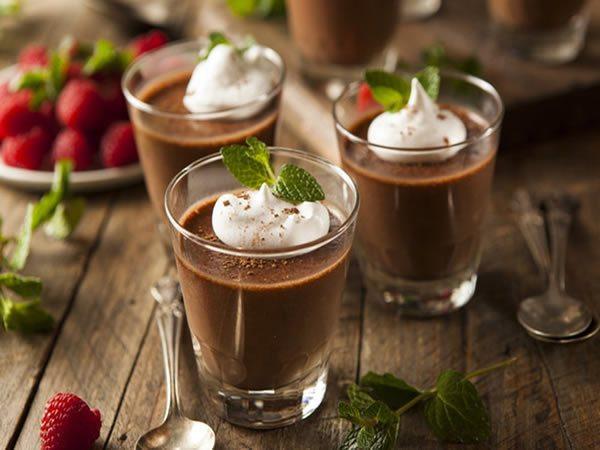 Receta de mus de chocolate