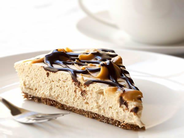 Receta de tarta de caramelo con chocolate