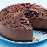 Receta de tarta sin horno de chocolate